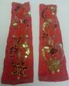 red armband set with Gold at www.DancingRahana.com