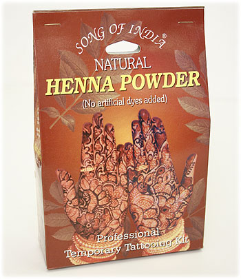 Natural Henna Powder - At DancingRahana.com