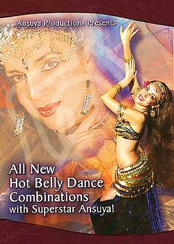 All New Hot Belly Dance Combinations with Ansuya! Instructional Belly Dance Video - At DancingRahana.com