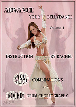 Advance Your Bellydance Volume 1 Drum DVD - At DancingRahana.com